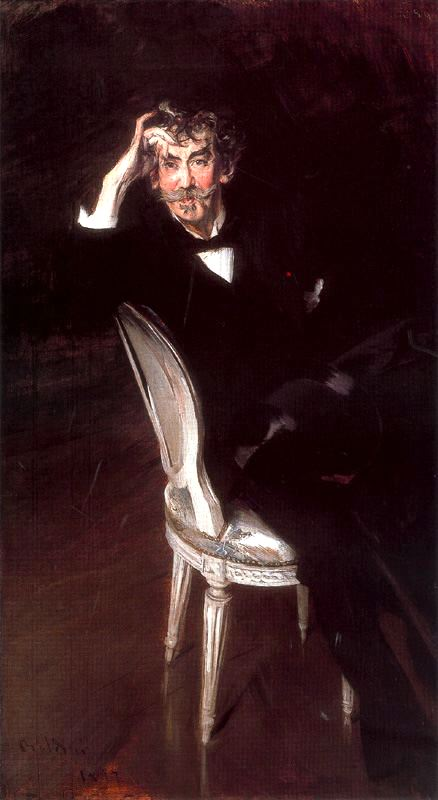 Giovanni Boldini - Portrait of James Abbott McNeill Whistler