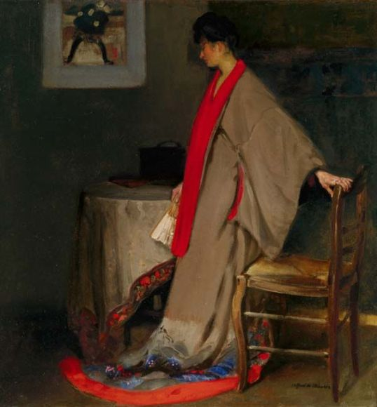 alfred-henry-maurer-young-woman-in-kimono-1344244016_b
