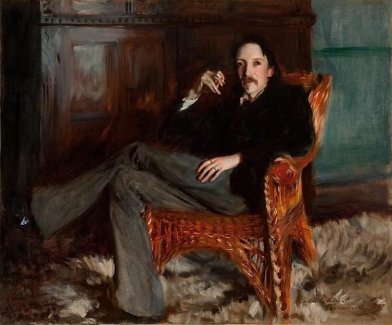 036-1. Robert Louis Stevenson